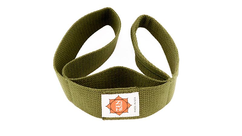 zen-yoga-strap-olive