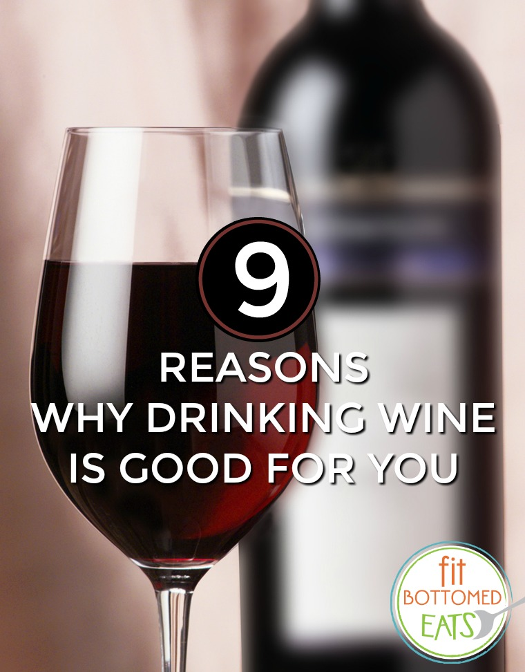 drinking wine is good for you
