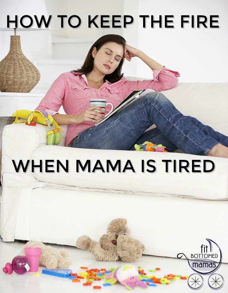 tired mama