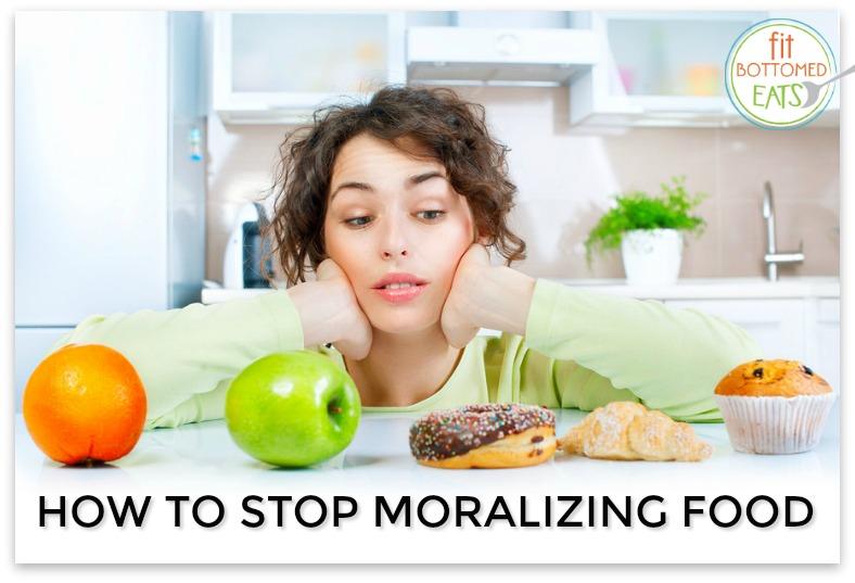 moralizing food