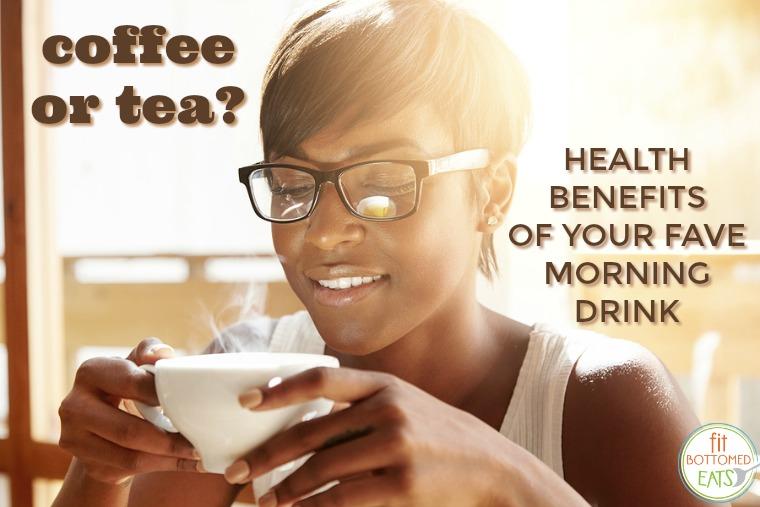 benefits of coffee or tea