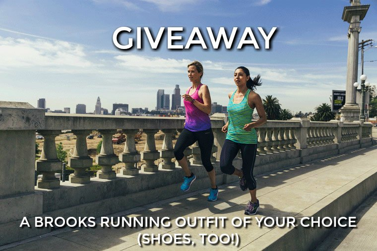 BROOKS RUNNING GIVEAWAY