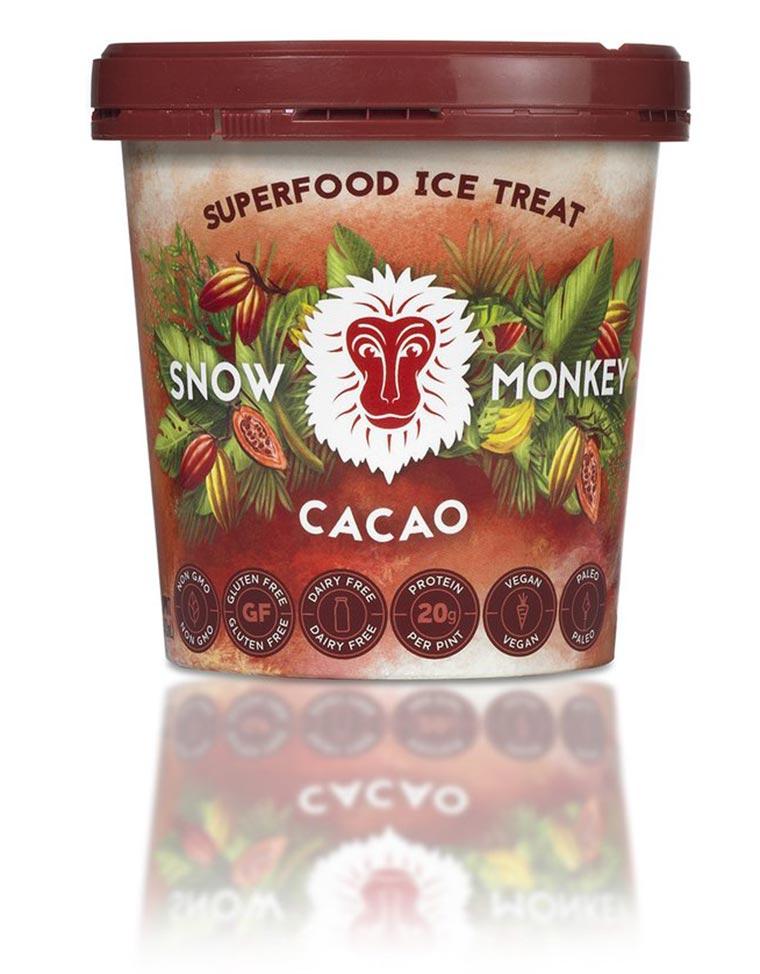 snow monkey ice cream