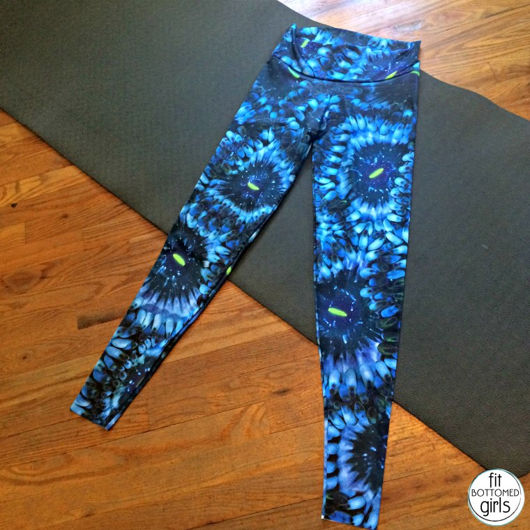 457d51a786 How fun are these Cosmic Coral Leggings from Waterlust ($65)? With this  super fun pattern that's inspired by soft coral and looks out of this world  (because ...