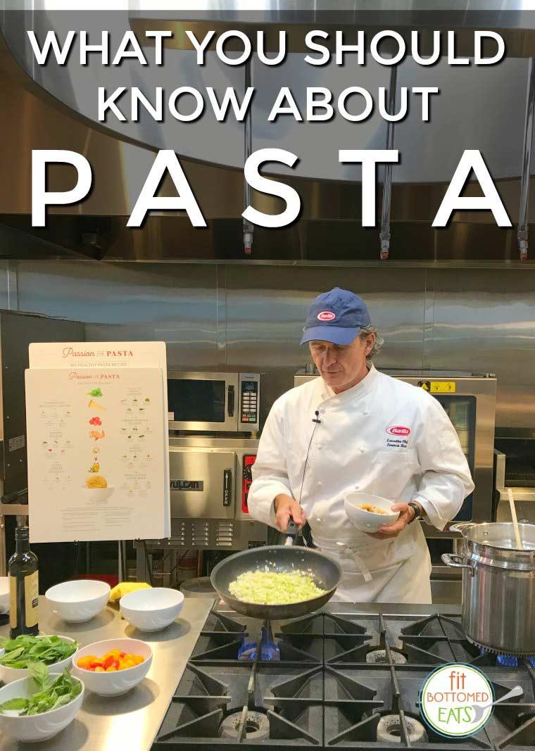 chef lorenzo boni barilla pasta