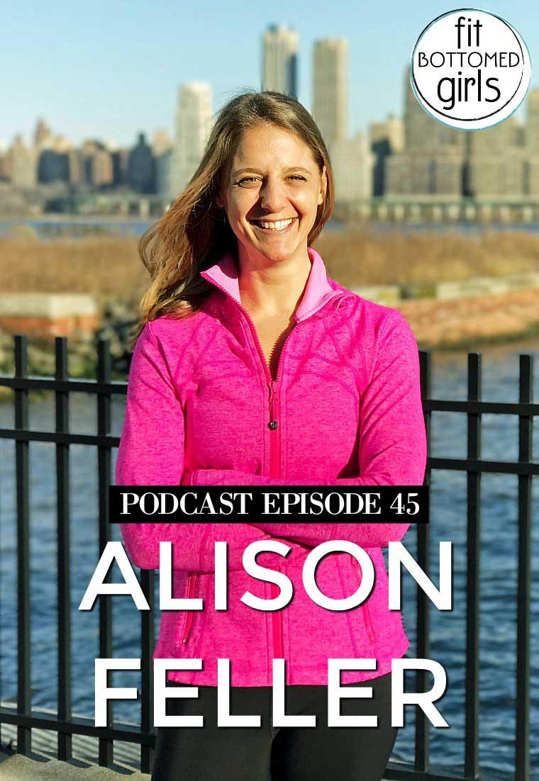 """Podcast Ep 45: Alison Feller of """"Ali on the Run"""""""
