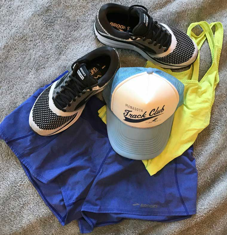 brooks running revel outfit