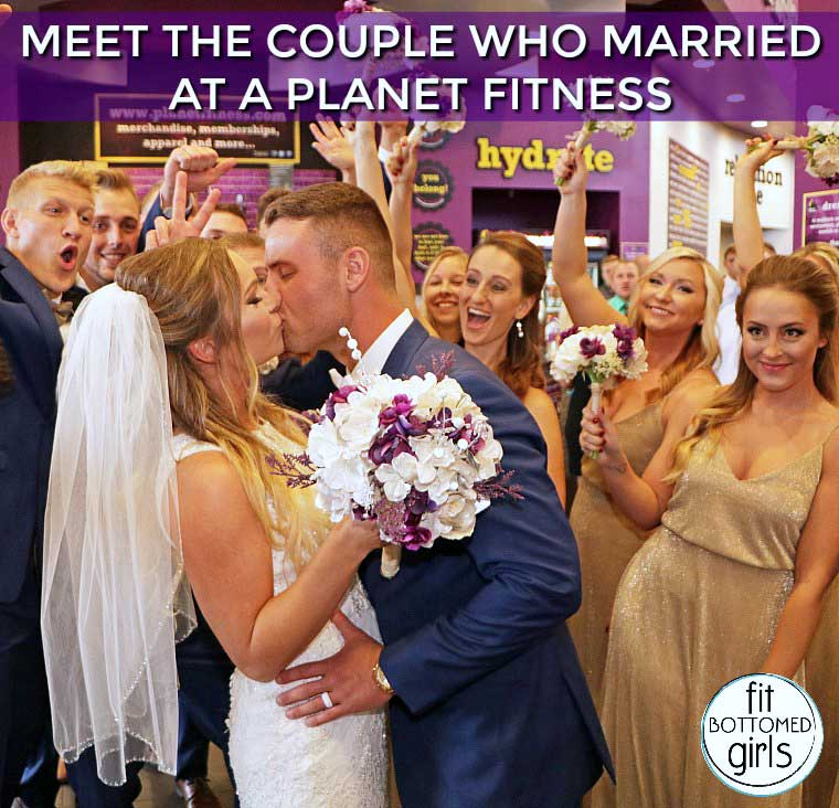 Love at First Lift: Meet the Couple Who Got Married at a Planet Fitness