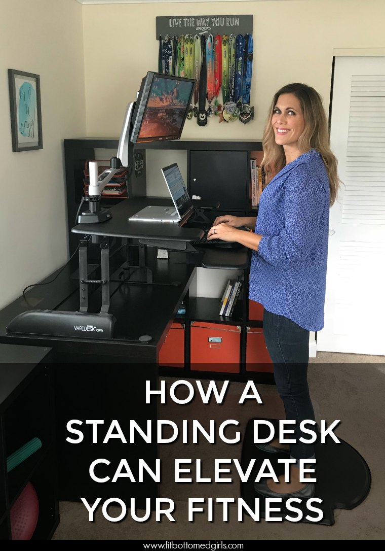kristen at varidesk standing desk