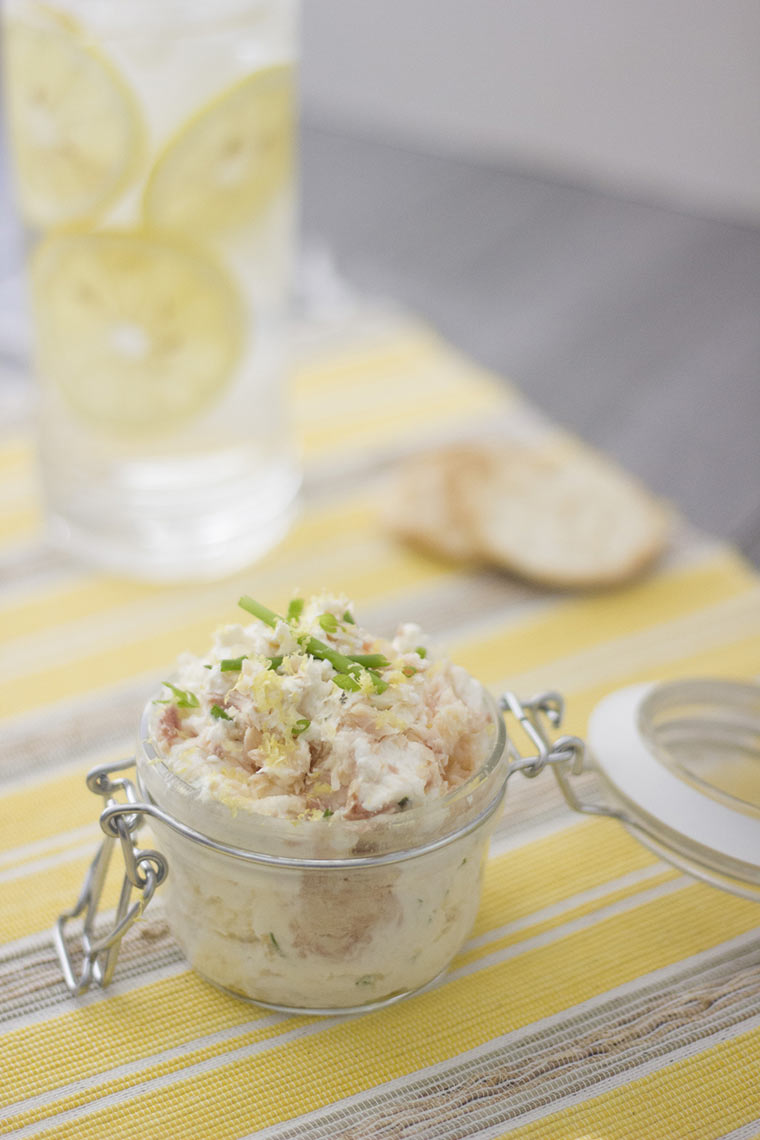 trout goat cheese spread