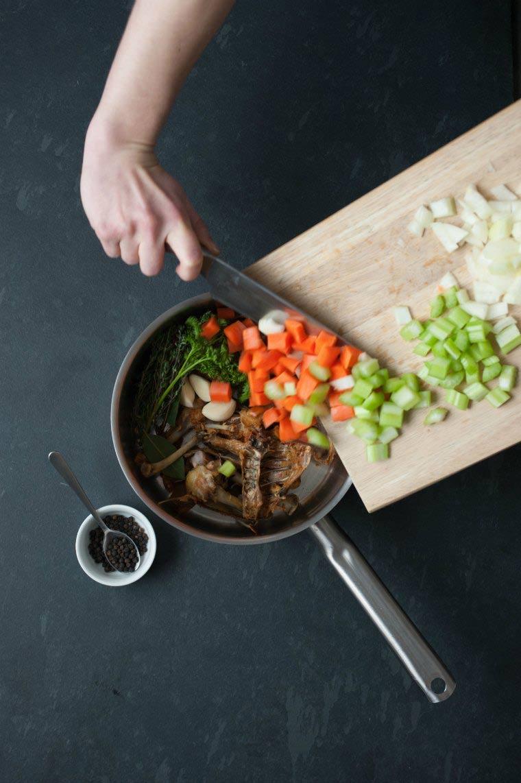 veggies for stock