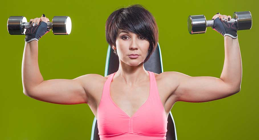The Best Dumbbell Exercises For Your Shoulders Fit Bottomed Girls