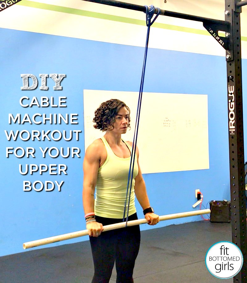 A Diy Cable Machine Workout For Your Upper Body Fit