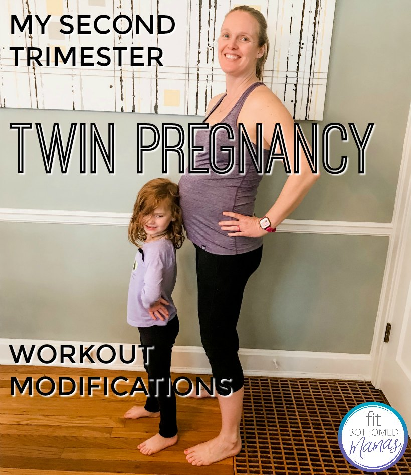 My Second Trimester Twin Pregnancy Workout Modifications