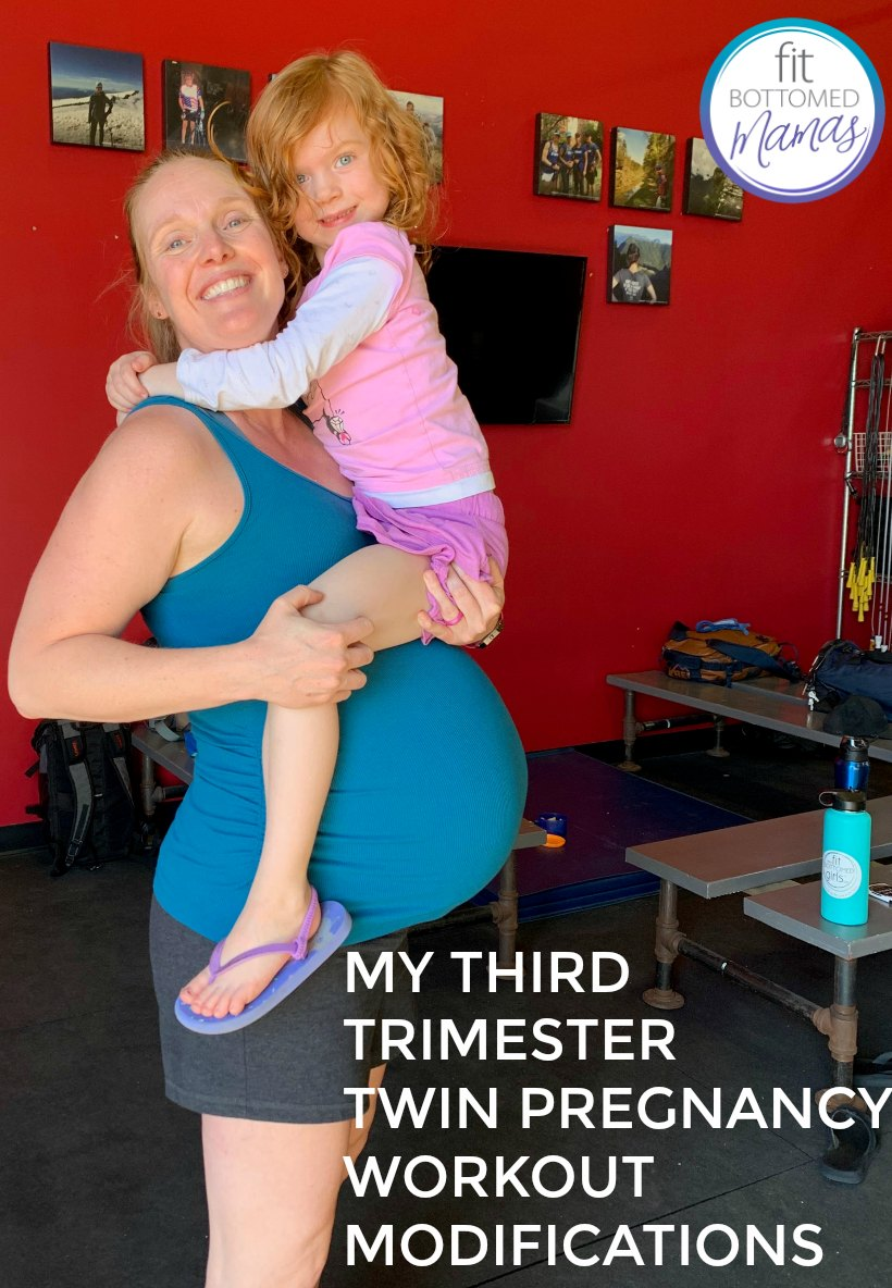My Third Trimester Twin Pregnancy Workout Modifications